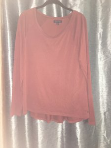 American Eagle Outfitters Long Sleeve T Shirt Faded Orange