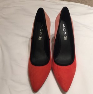 ALDO Orange/Pink/Black Pumps