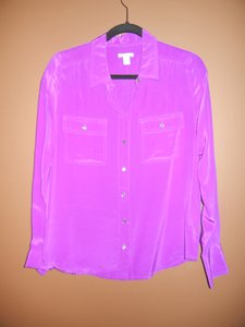 J.Crew Button Down Shirt Orchid