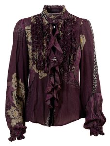 Etro Top Multi/Burgundy