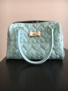 Betsey Johnson Satchel in Blue
