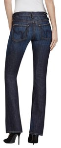 Citizens of Humanity Pettite Chic Classic Luxury Boot Cut Jeans-Dark Rinse