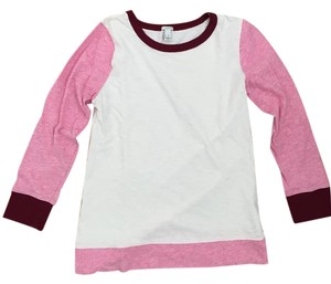 J.Crew 3/4 Sleeve Cotton Fall Casual T Shirt PINK