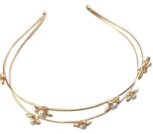 Anthropologie New Anthropologie Pearled Starlight Headband