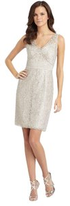 BCBGMAXAZRIA Lace V-neck Dress