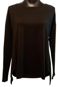 Eileen Fisher Blouse T Shirt Black