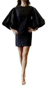 Stella McCartney Poet Sleeve Puff Sleeve Backless Chic Huge Sleeve Dress