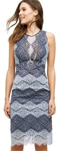 Anthropologie short dress blue Erin Fetherston Anthro on Tradesy