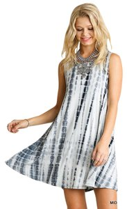 Umgee short dress Midnight Boho Bohemian Tie Dye on Tradesy