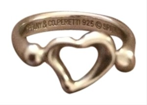 Tiffany & Co. Elsa Peretti Open Heart Ring In Sterling Silver