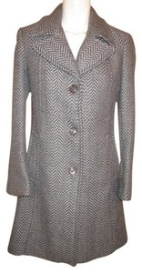 DKNY Herringbone Coat