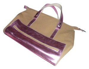 Lamarthe Tote in Metallic Pink and Kachie