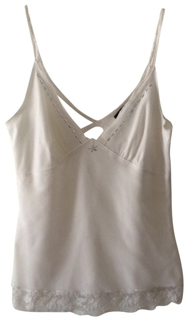 Preload https://item4.tradesy.com/images/karen-kane-white-lacey-strap-with-silver-accents-tank-topcami-size-4-s-196253-0-0.jpg?width=400&height=650