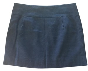 J.Crew J Crew Mini Mini Skirt Navy