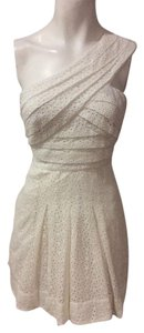 BCBG MAXAZRIA Designer Dress Size 4 Small S White Formal Sundress 2 6 Maxi Short short dress on Tradesy
