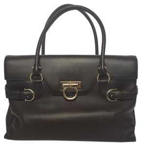 Salvatore Ferragamo Satchel in Brown
