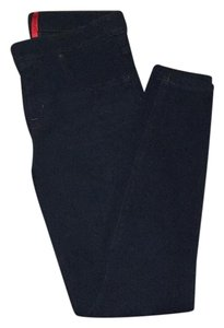 Spanx Denim Leggings Dark Blue Denim Leggings