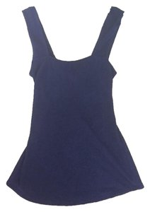 Claudie Pierlot Parisian France French Cut-out Top Blue