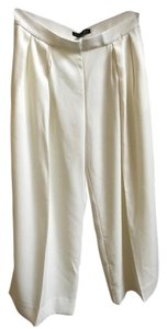 Banana Republic Wide Leg Sophisticated Wide Leg Pants cream