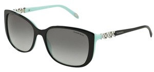 Tiffany & Co. TIFFANY & Co. Sunglasses 4090-B Black & Tiffany Blue w/Crystals