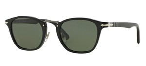 Persol Persol 3110-S Sunglasses Typewriter 3110S Black Polarized 9558 New