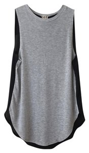 Haute Hippie Top Grey/Black