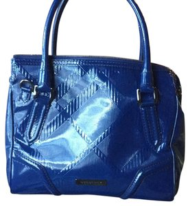 Burberry Satchel in Electric Blue