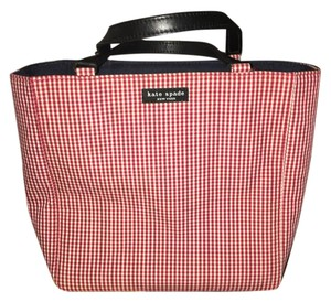 Kate Spade Tote in Red and white gingham