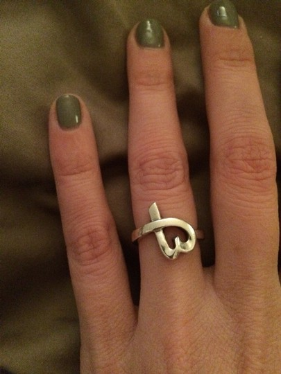 Tiffany & Co. Loving Heart Ring Sterling Silver