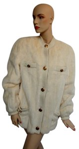 Givenchy Mink Bomber Jacket Chanel Fendi Fur Coat