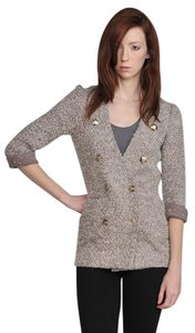 Line & Dot Boyfriend Jacket Tweed Military Jacket And And Jacket Mulberry Blazer