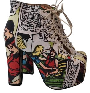 Jeffrey Campbell Comic fabric Boots