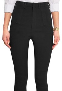 Givenchy High Rise Stretch Skinny Pants black