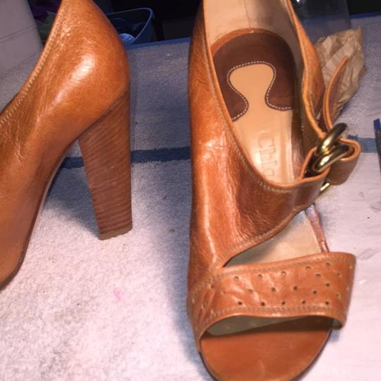 Chloé Camel Pumps