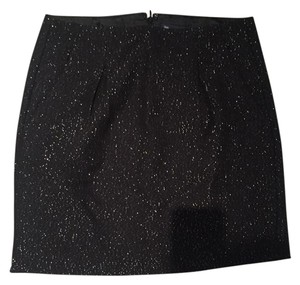 Gap Formal Holiday Sparkle New Year's Party Mini Skirt Black