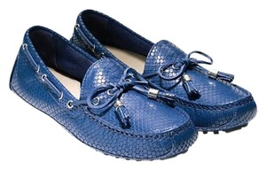 Cole Haan Moccasin Driver Driving Moc Blue Flats