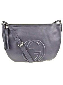 Gucci Navy Blue Messenger Bag