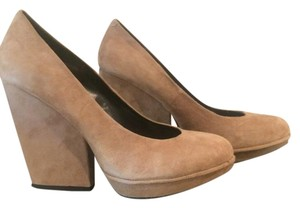DV by Dolce Vita Suede Tan Wedges