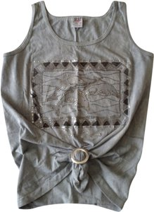 Anvil Top Gray with Silver Graphic