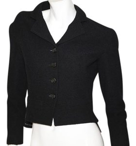 Chanel Wool Black Jacket