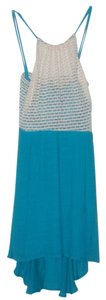 Teeze Me short dress Turquoise on Tradesy