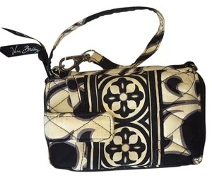 Vera Bradley Wristlet in Black And White