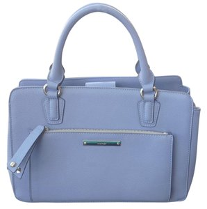 Nine West Leather Satchel in Periwinkle