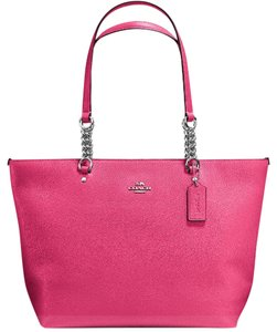 Coach 34340 Tote Satchel in Dahlia