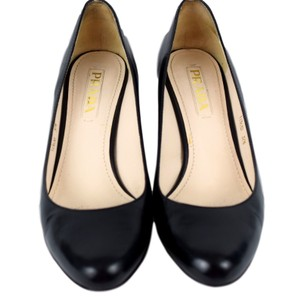 Prada 11363d High Heels Black Pumps