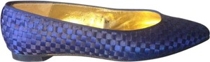 Donald J. Pliner Royal Blue Flats
