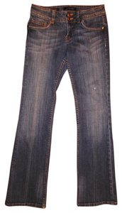 Vigoss Stretchy Boot Cut Jeans-Distressed