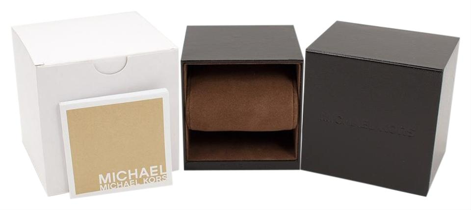 Michaels Brown Favor Boxes : Michael kors brown mens womens gift box watch tradesy