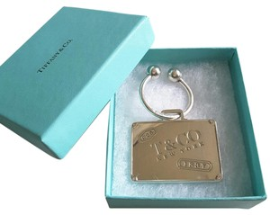 Tiffany & Co. Tiffany & Co VERY RARE Sterling Silver Luggage Tag/Key chain