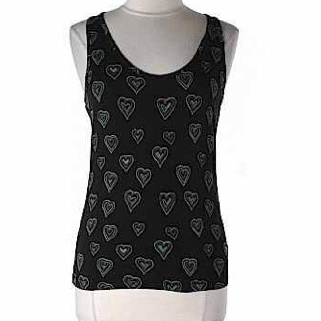 French Connection Fcuk Hearts Top Black
